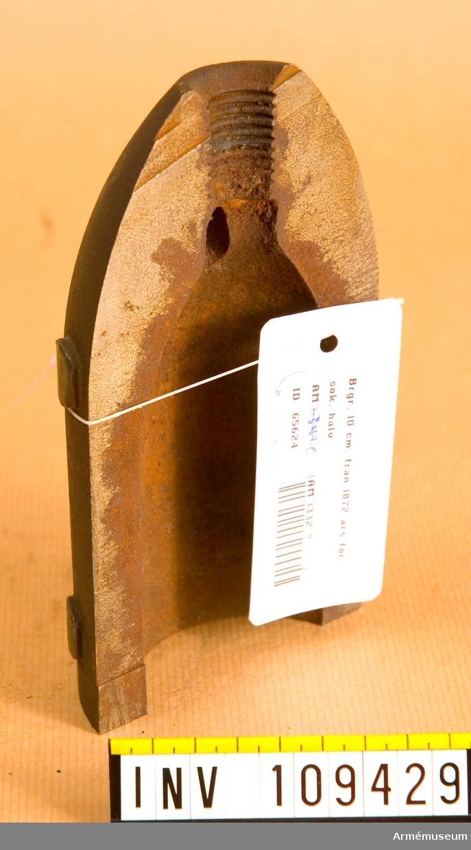 10 cm brandgranat