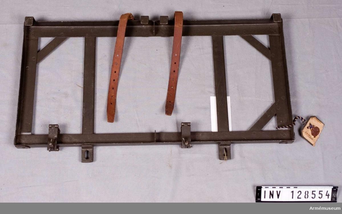 Grupp K II. Rem m/1918 för mes till kavelvinda till packsadel m/1914.
