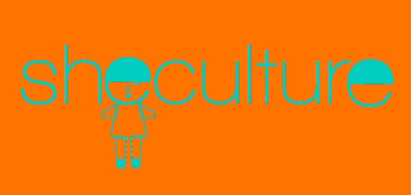 Logo She Culture, oransje. Foto/Photo