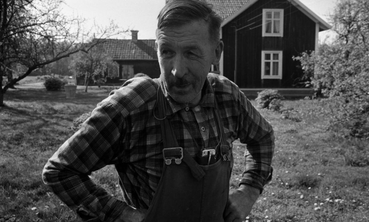 Vinön 29 maj 1967 Frans Josef Olsson född 1903 - död 1986.