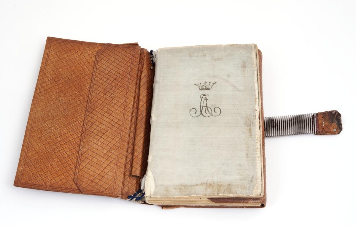 1 engelsk almanakk fra 1815. Tilhørt Carsten Anker.