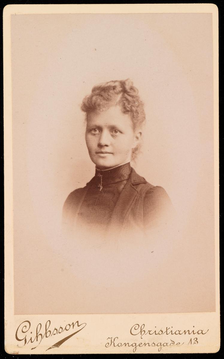 Portrett av Borghild Fritzner.