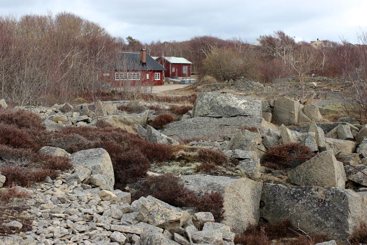 Bohus-Malmön, stenbrottet.