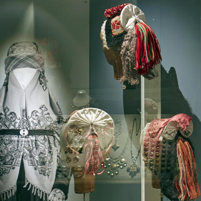 Head Wear. The Folk Dress Exhibition
