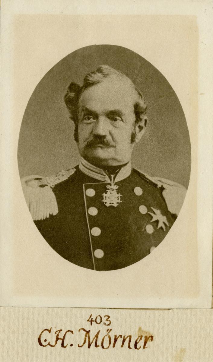 Porträtt av Christer Hampus Mörner, officer vid Andra livgardet I 2.