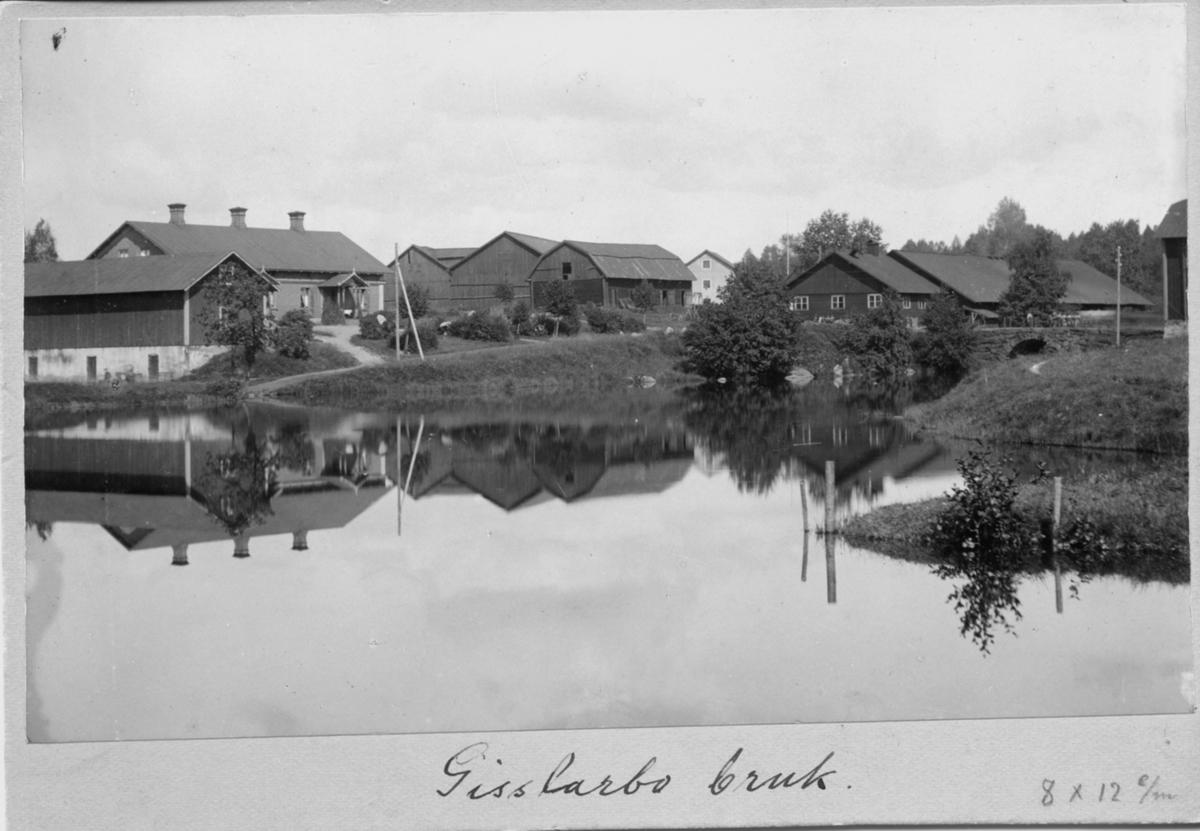 Karlsborg i början av 1900-talet. parti från Rödesund