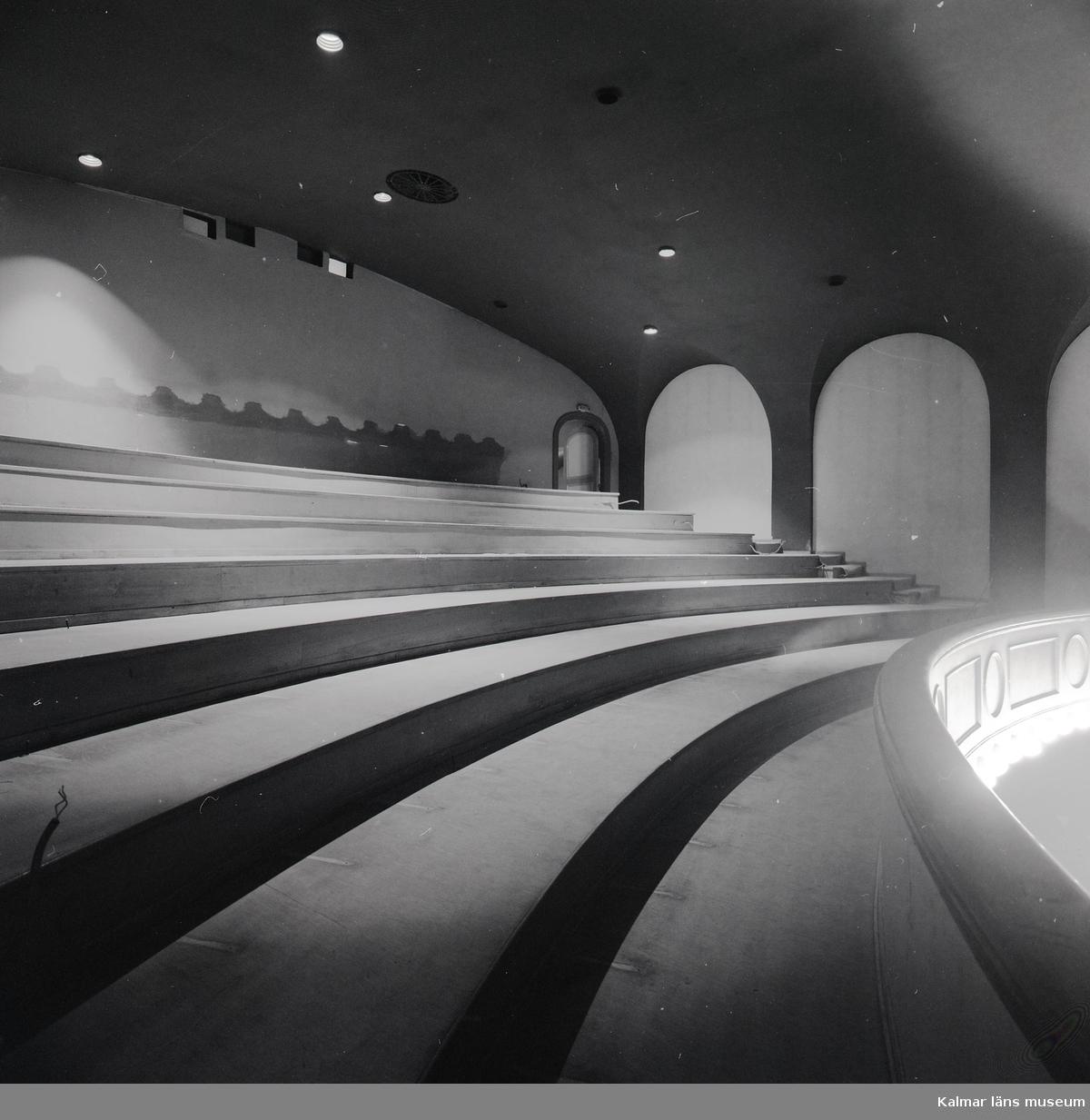 Balkong på biografen Palladium.