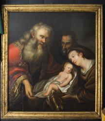 Den hellige familie [Lerretsmaleri]
