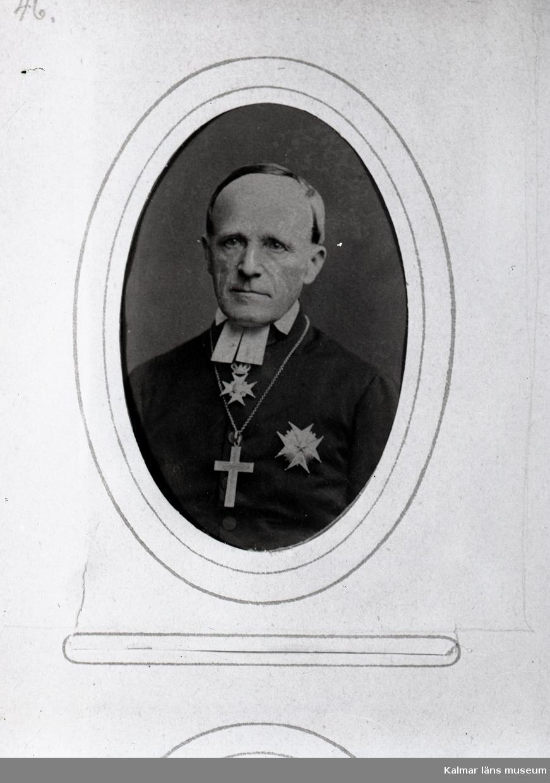 Paulus Genberg var biskop i Kalmar 1852-1875.