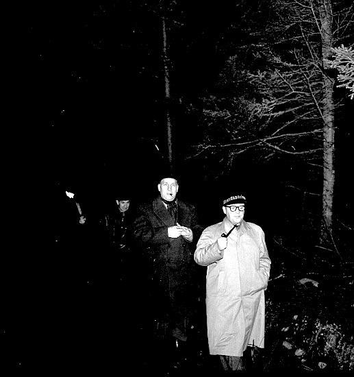 Skara. Lions Club, grillfest, (Höst-blot) 1958.