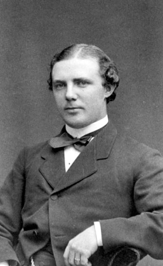 Läroverksadjunkt Gustaf Lundberg