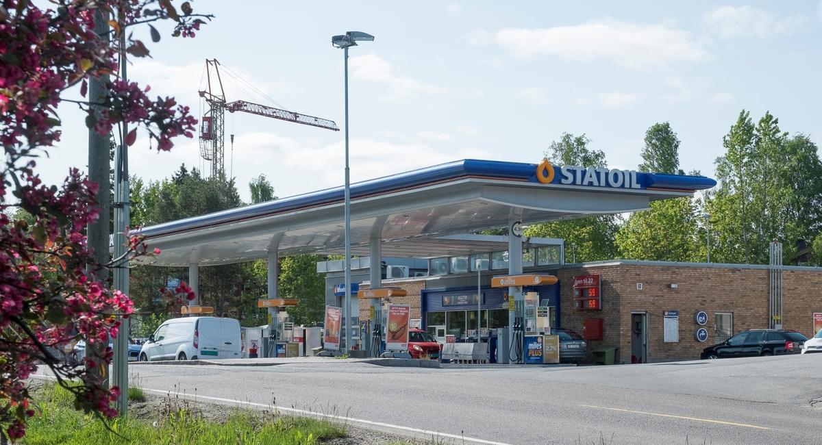 Statoil bensinstasjon Kapellveien Nesoddtangen Nesodden