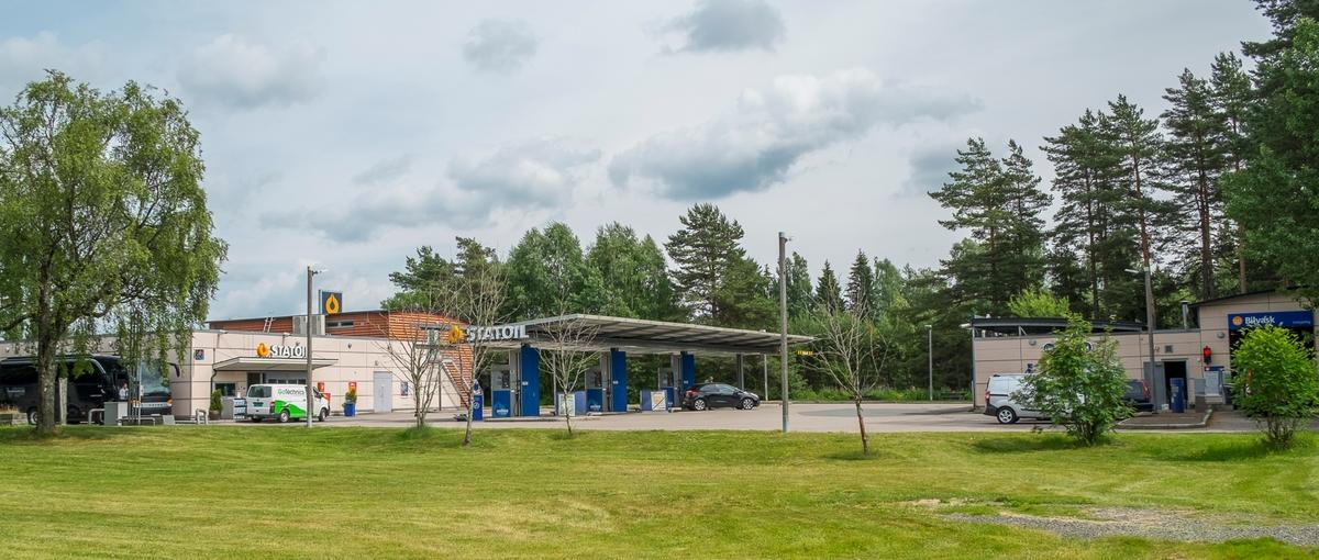Statoil bensinstasjon Fritjof Nansensvei Gardermoen Ullensaker