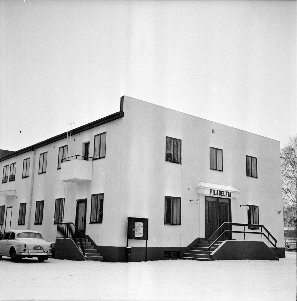 Filadelfia i Arbrå, Makarna Westerlund, Februari 1973