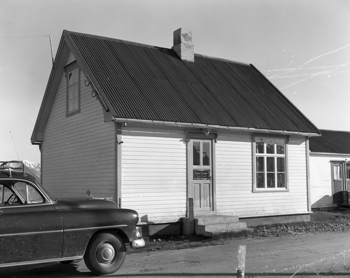 Langenes Sparebank i Strengelvåg 1955