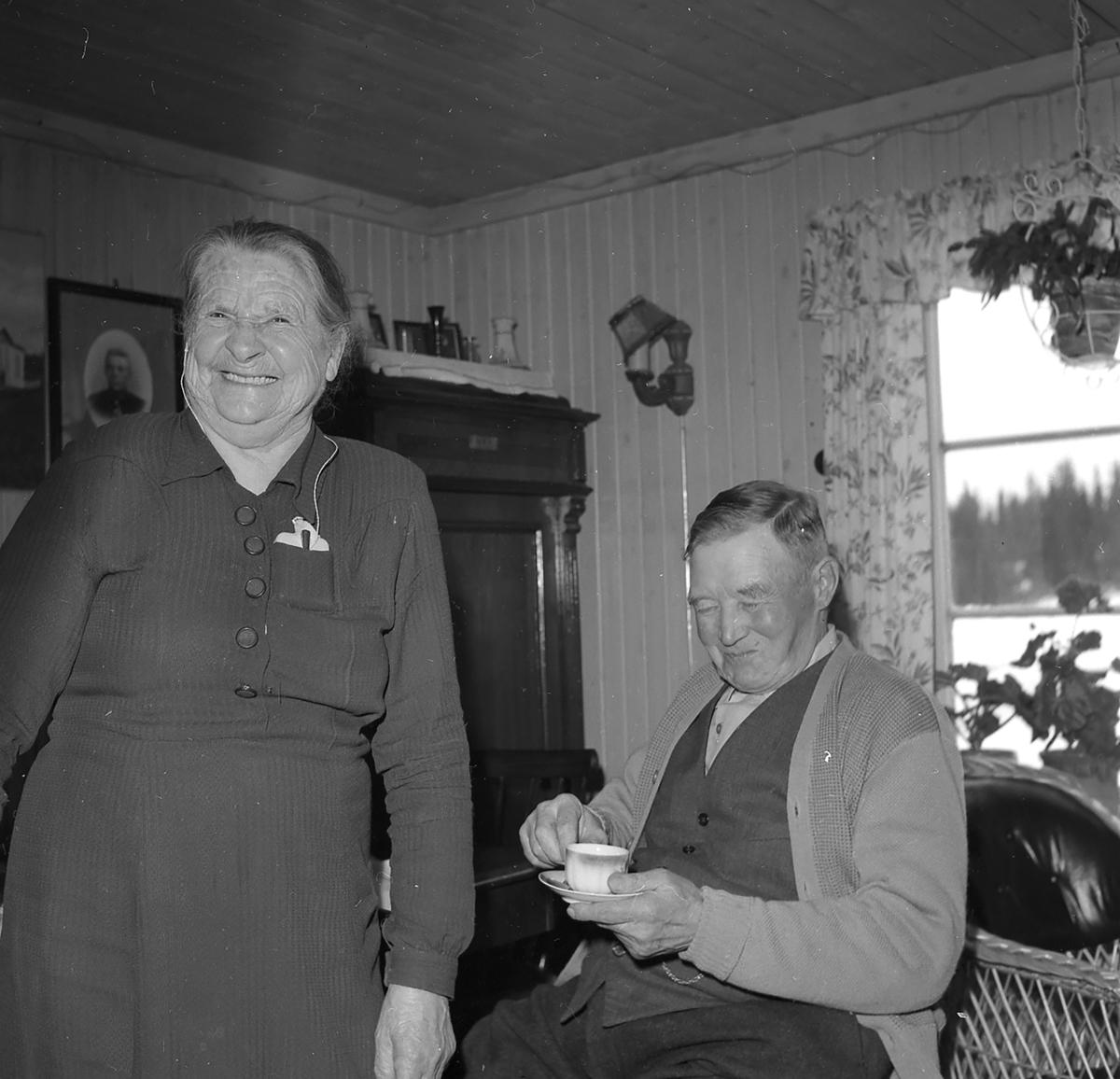 Johanne og Halvor Berg,Hernes