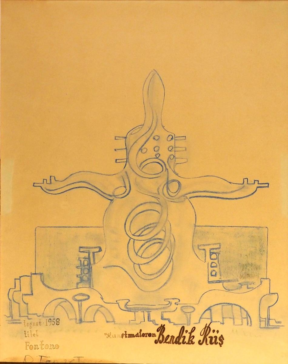 Fontene [Tegning]