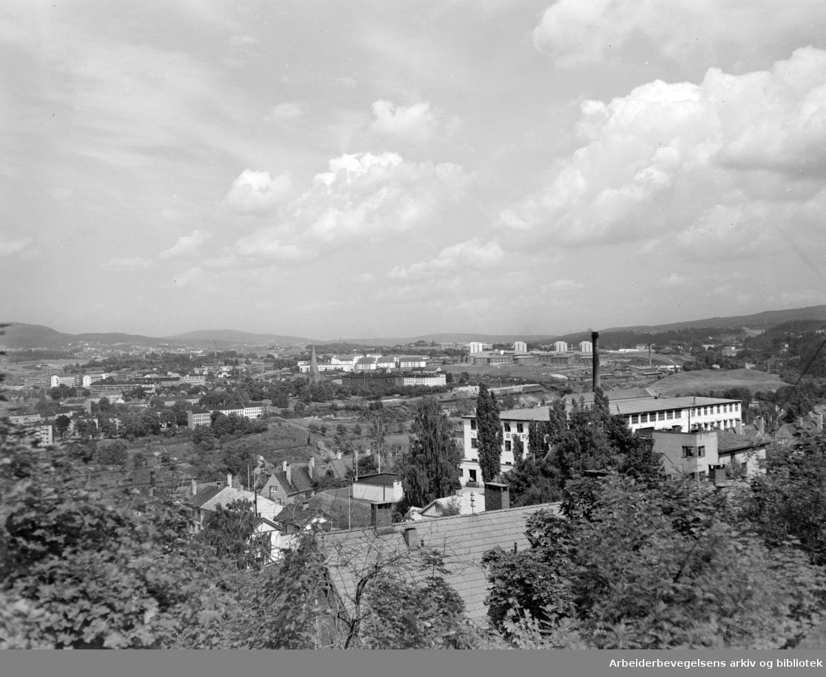 Kværnerdalen. Februar 1950