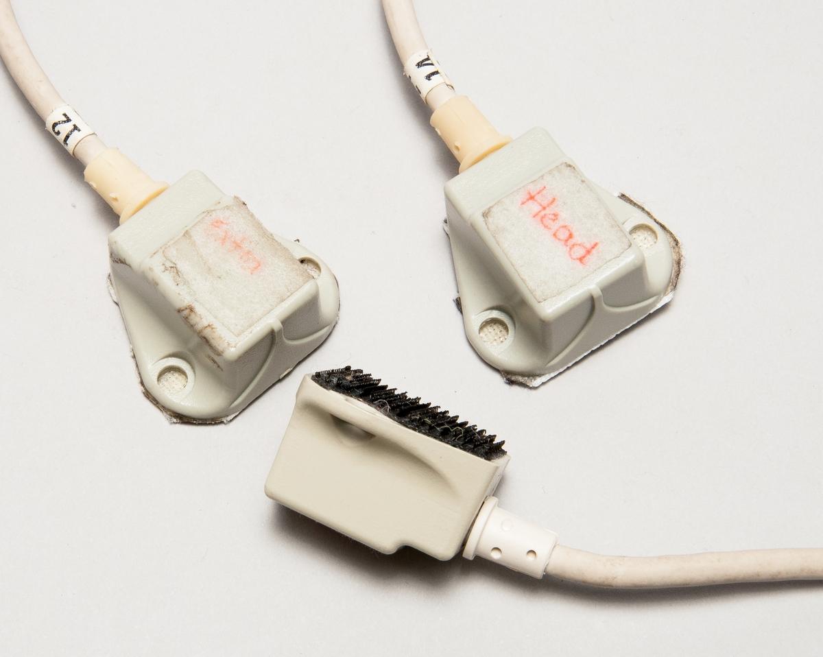 Sensorer/mottagare för motion capture-utrustning. Ansluts till rackenhet och anbringas på modell. Inklusive kablage.
