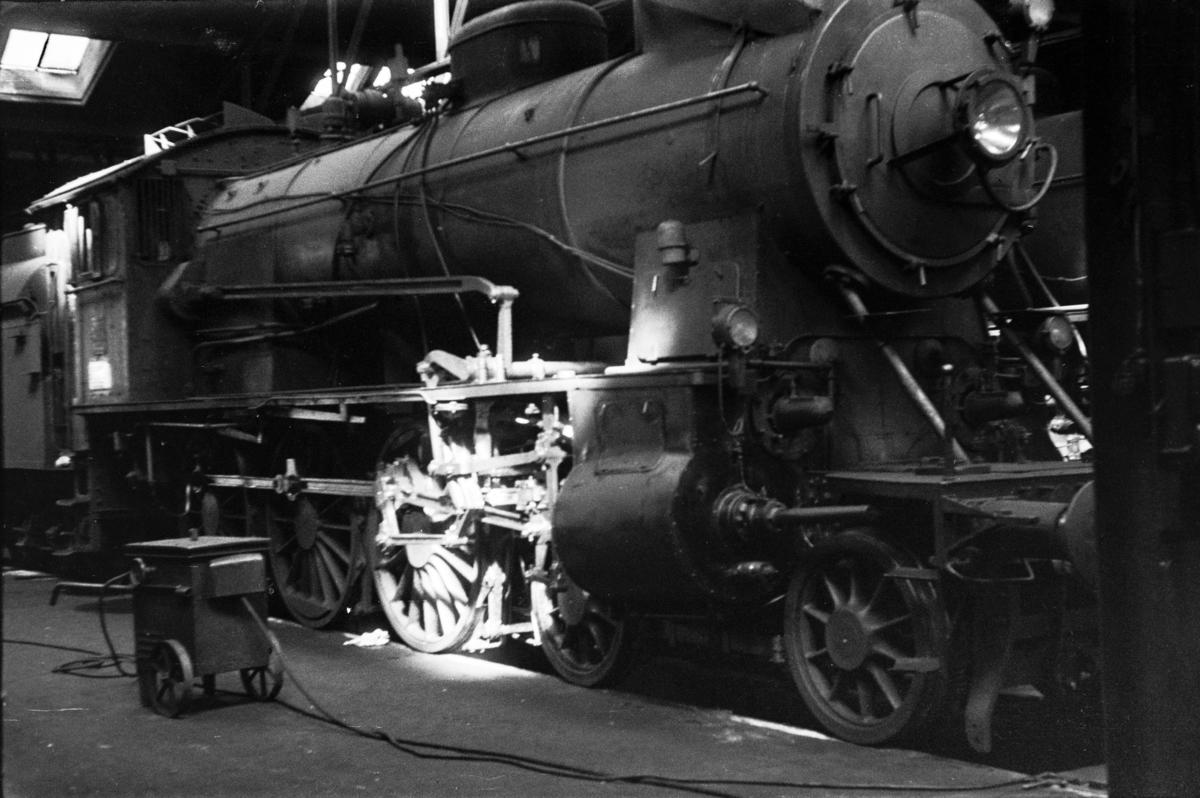 Damplokomotiv type 30b nr. 361 i Gamlestallen Lodalen i Oslo.
