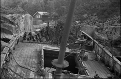 """H-1-SO """"Familien"""" som vrak Ålfjorden, sans. 1967"""
