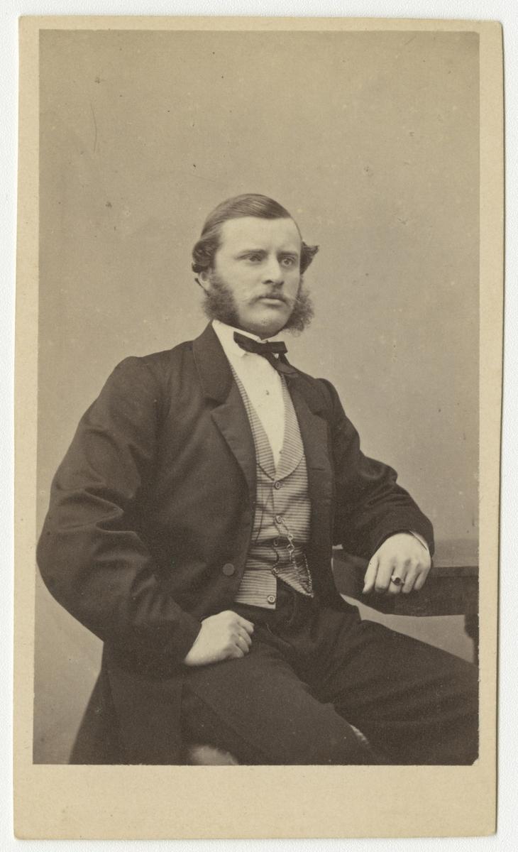 Porträtt av Jacob Ludvig von Post, officer vid Västmanlands regemente I 18.