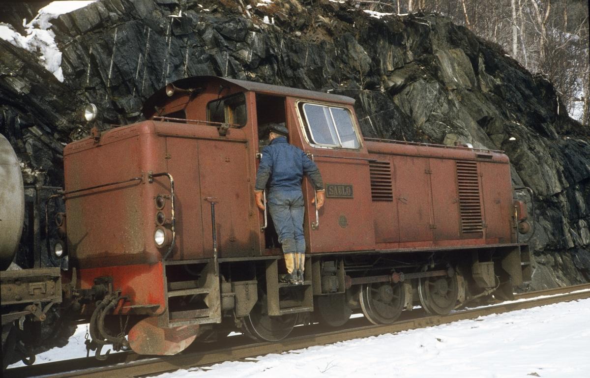 Sulitjelmabanens diesellokomotiv SAULO