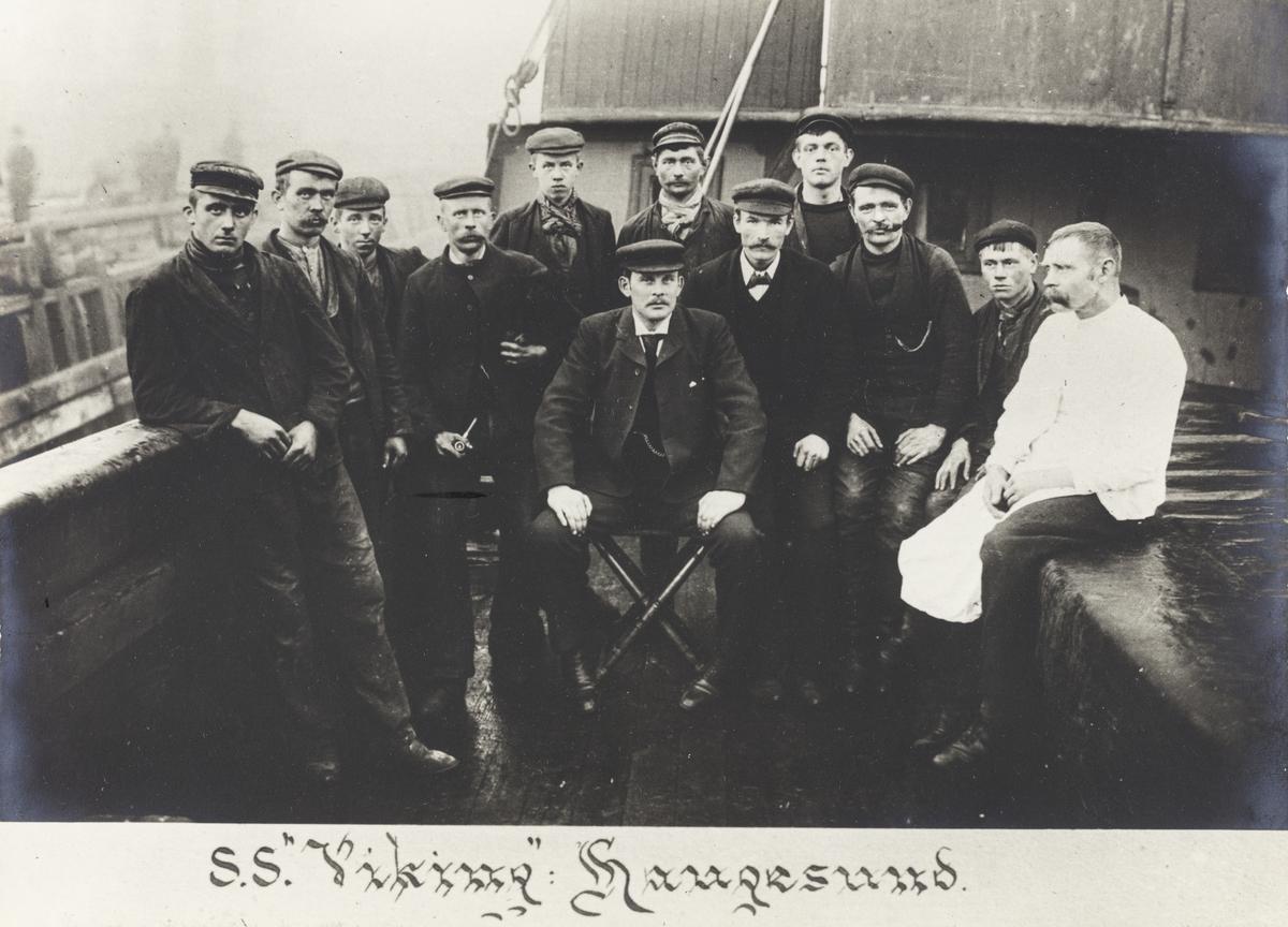 """Mannskapsbilde - S/S """"Viking"""" 1905"""