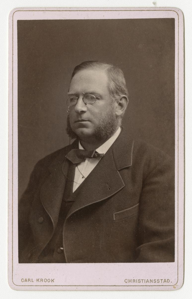 Porträtt av Otto Gustaf Nordenskjöld, auditör vid Smålands grenadjärbataljon.