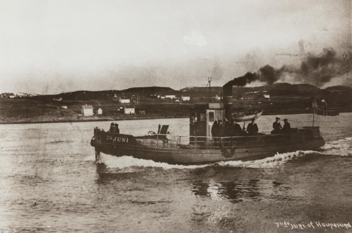 "Slepebåten ""7de Juni""."