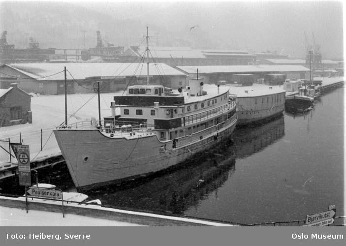 elv, utløp, havn, husbåter for hjemløse, snø