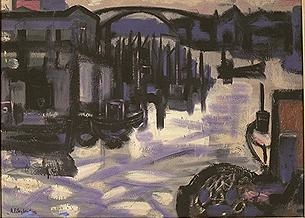 Havnebilde [Maleri]