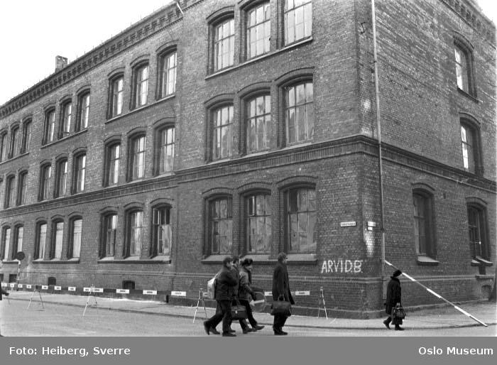 Vaterland skole, mennesker