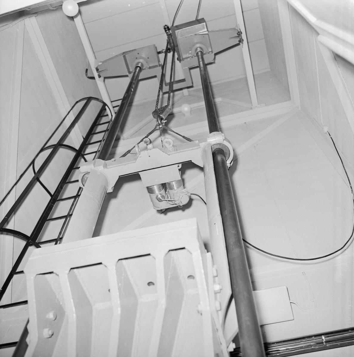 Stötprovningspanel och manöverpanel
