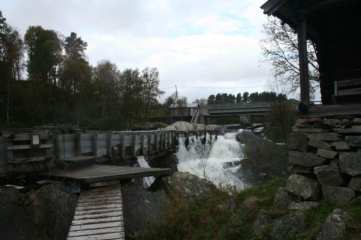 Sagbruk, vassrenna,  Vannbruksmuseet, Atnbrua