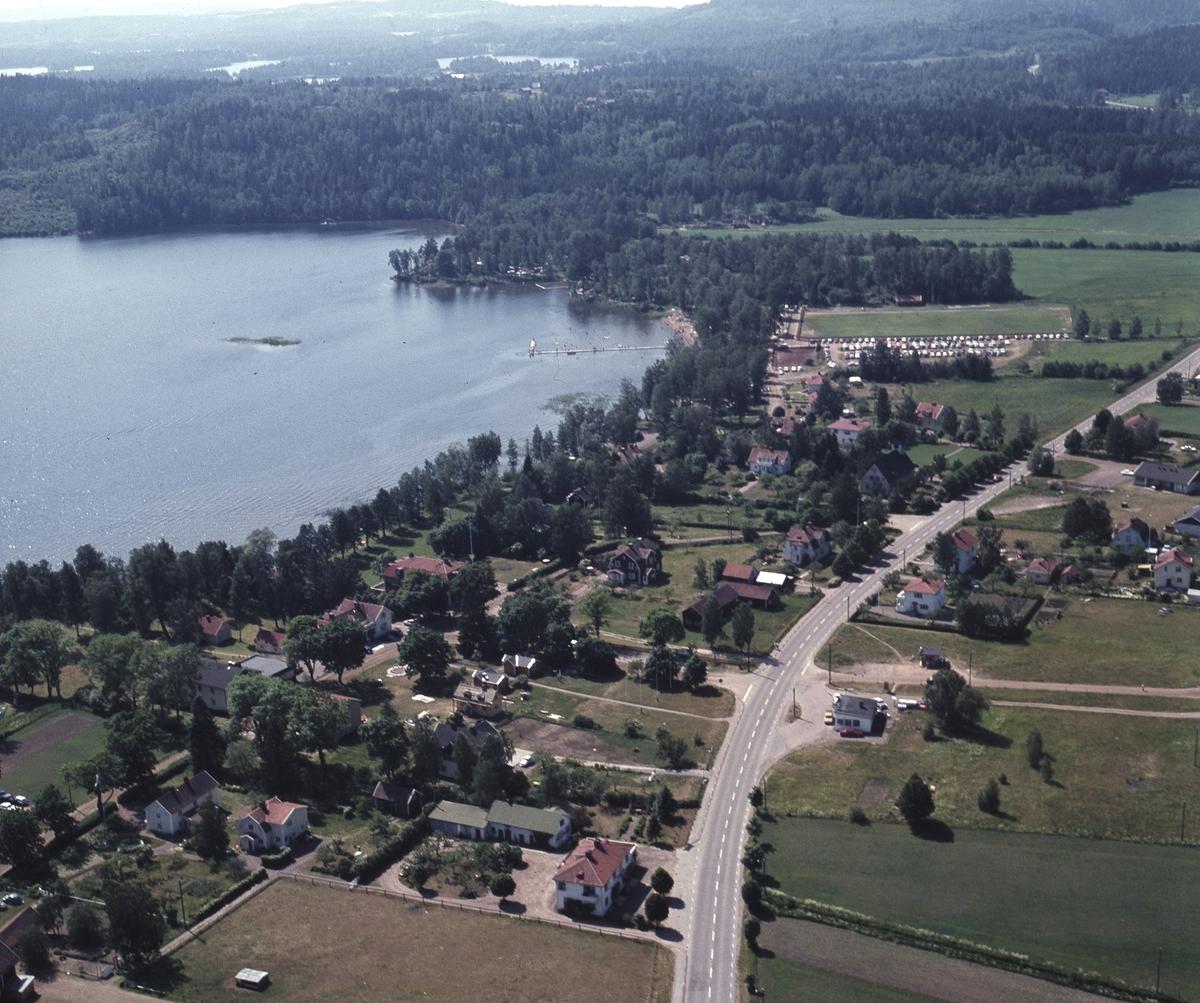Flygfoto över Örserum, Jönköpings kommun.  138/1970