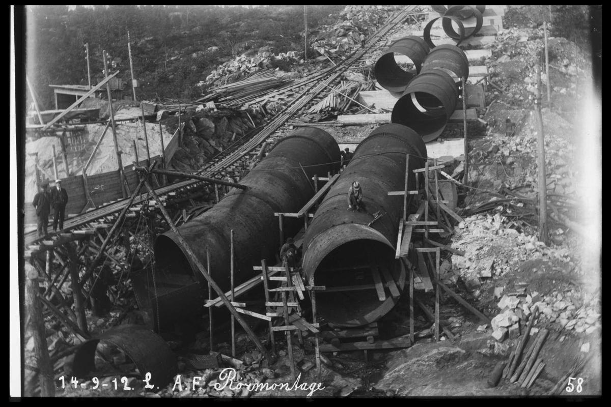 Arendal Fossekompani i begynnelsen av 1900-tallet CD merket 0469, Bilde: 66
