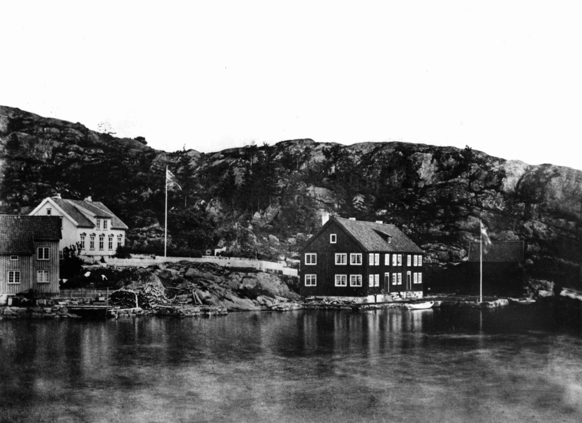 Wagnerhuset, Sandviken, Borøya