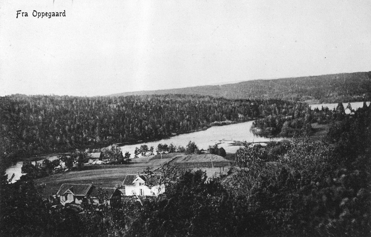 Fagerås, tidligere del av Sætre gård.