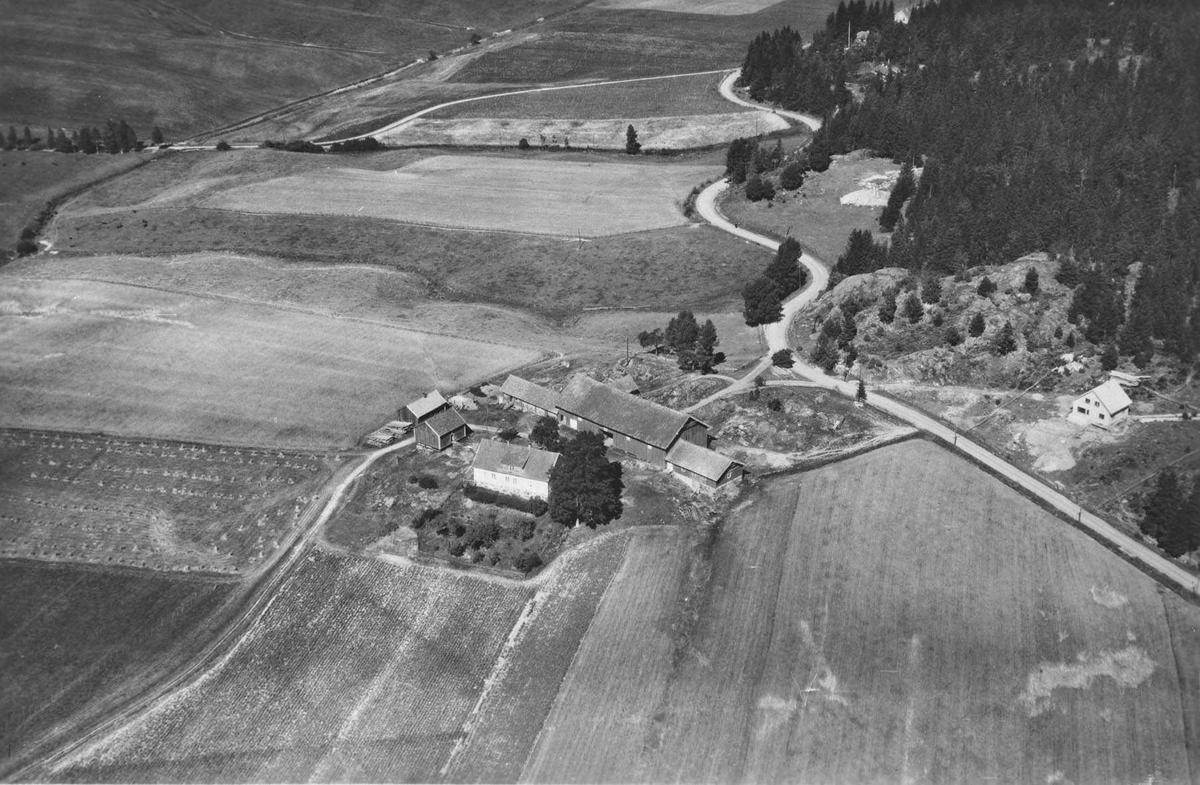 Flyfoto av Rud gård