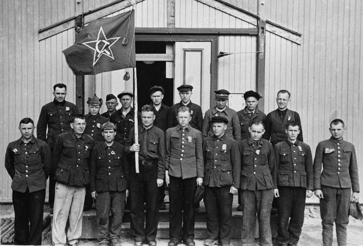 Russiske krigsfanger.