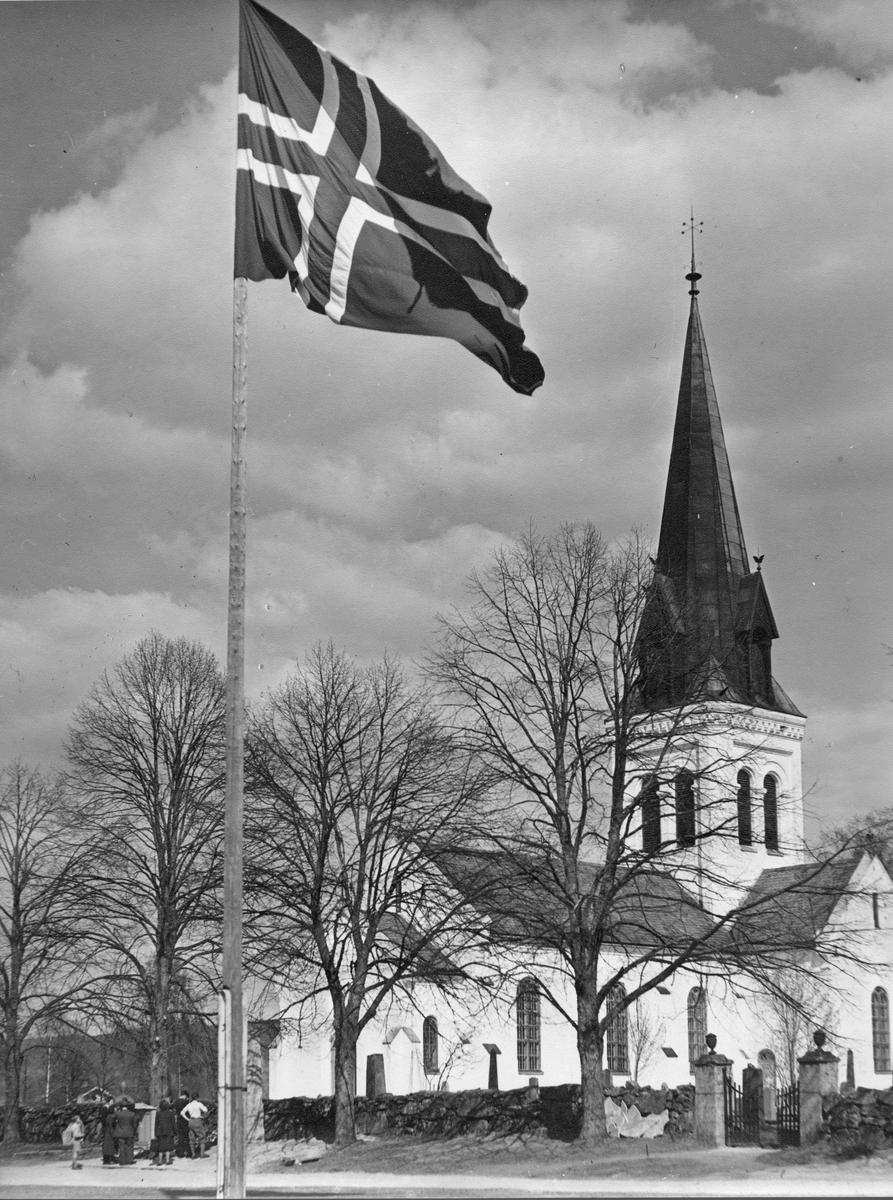 Eidsvoll Kirke 1950.