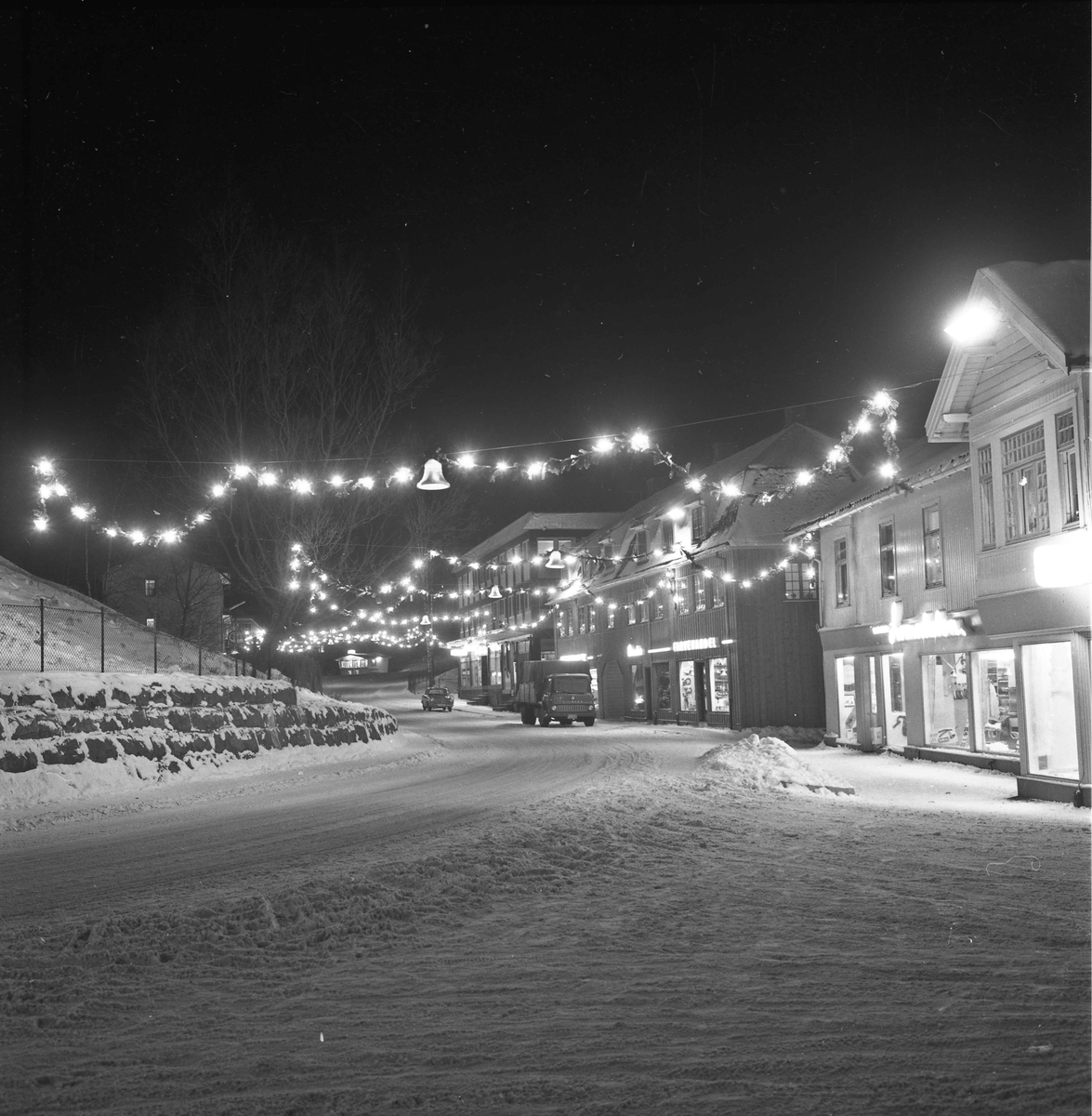 Sundet ved juletider 1964.