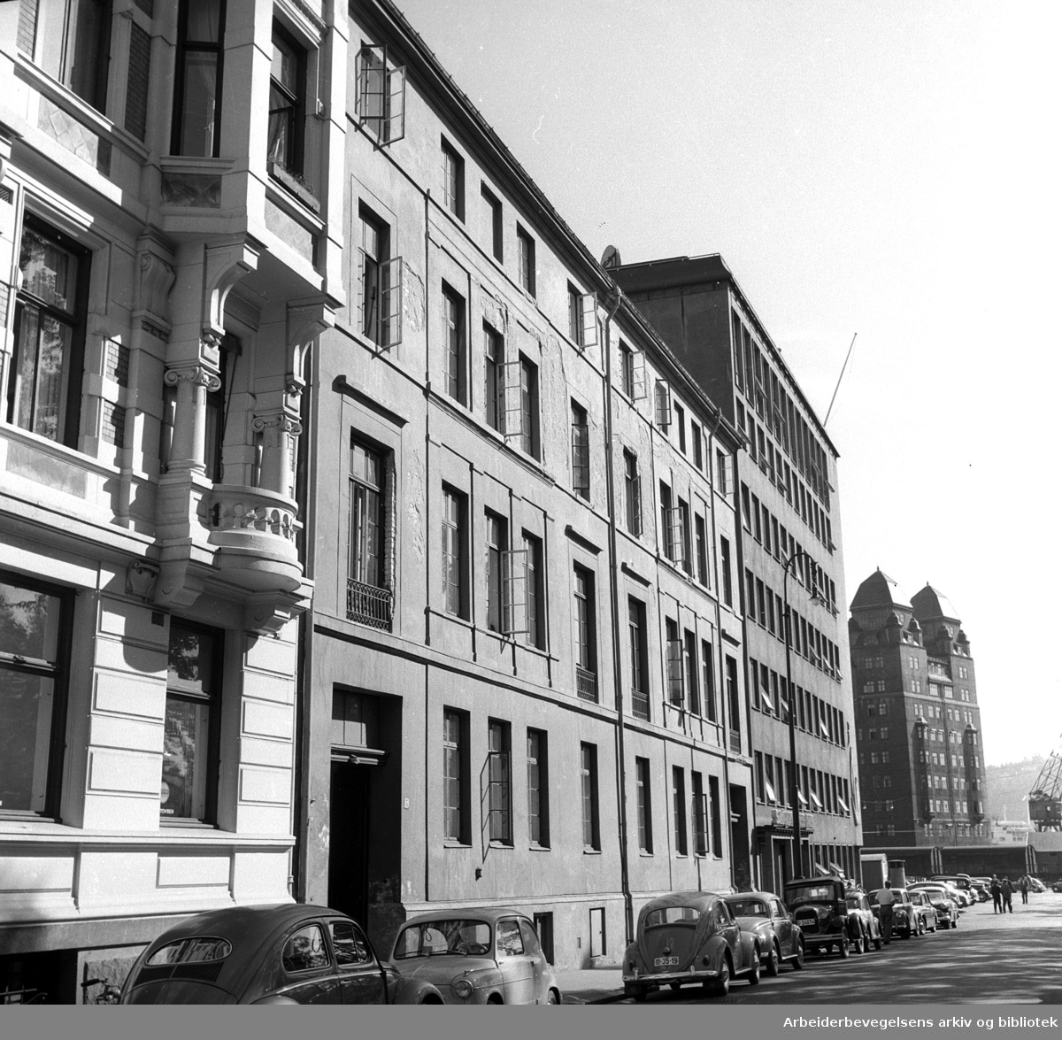 Sjømennenes Hus,.september 1959