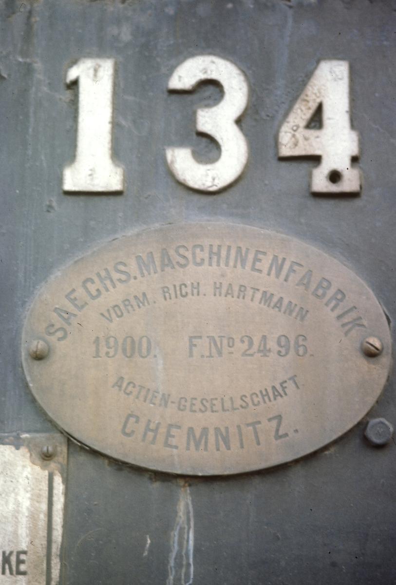 Detalj på damplokomotiv 18c 134.