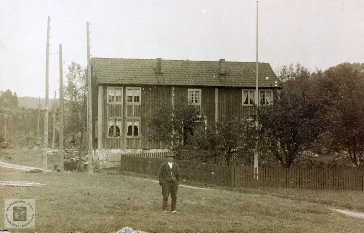 Gamlehuset på Voddan, Grindheim Audnedal.