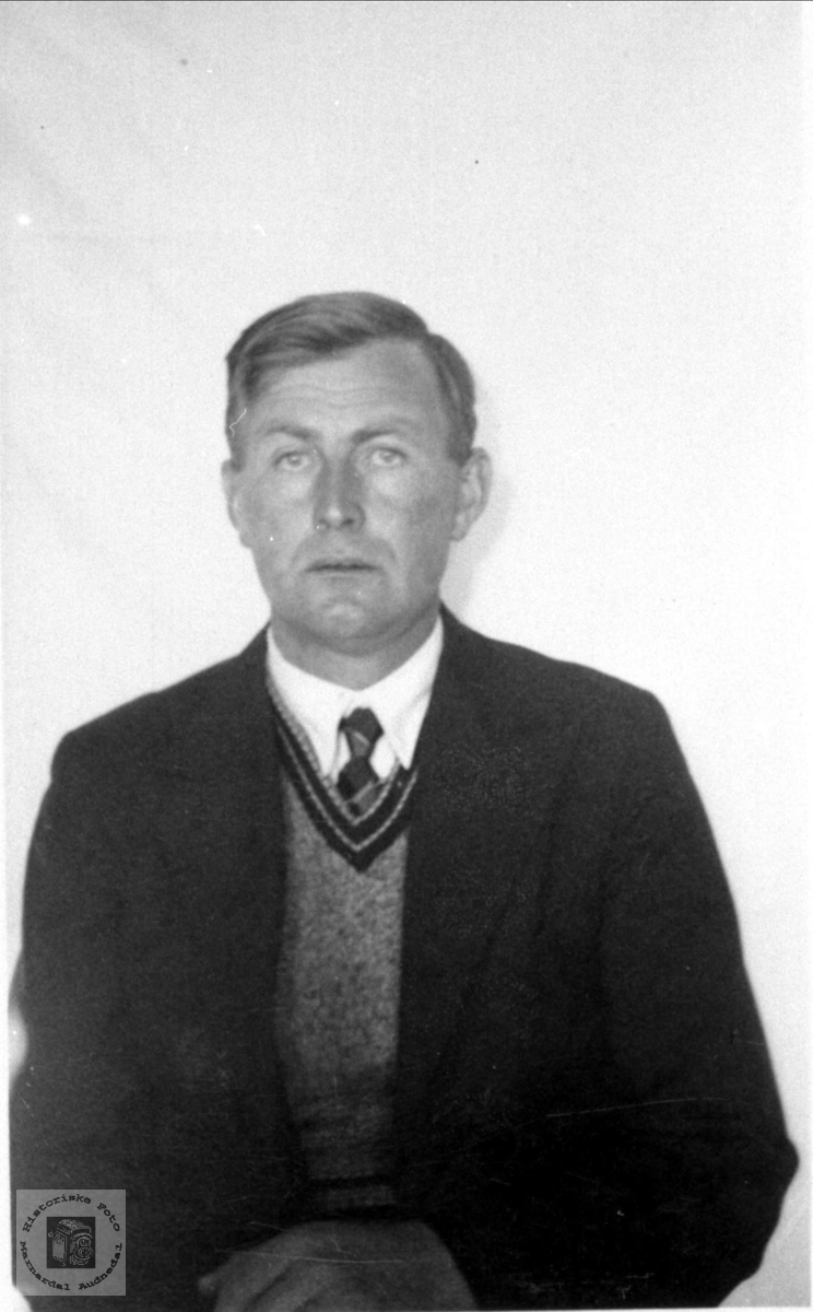 Portrett av Torkel Hesså, Bjelland.