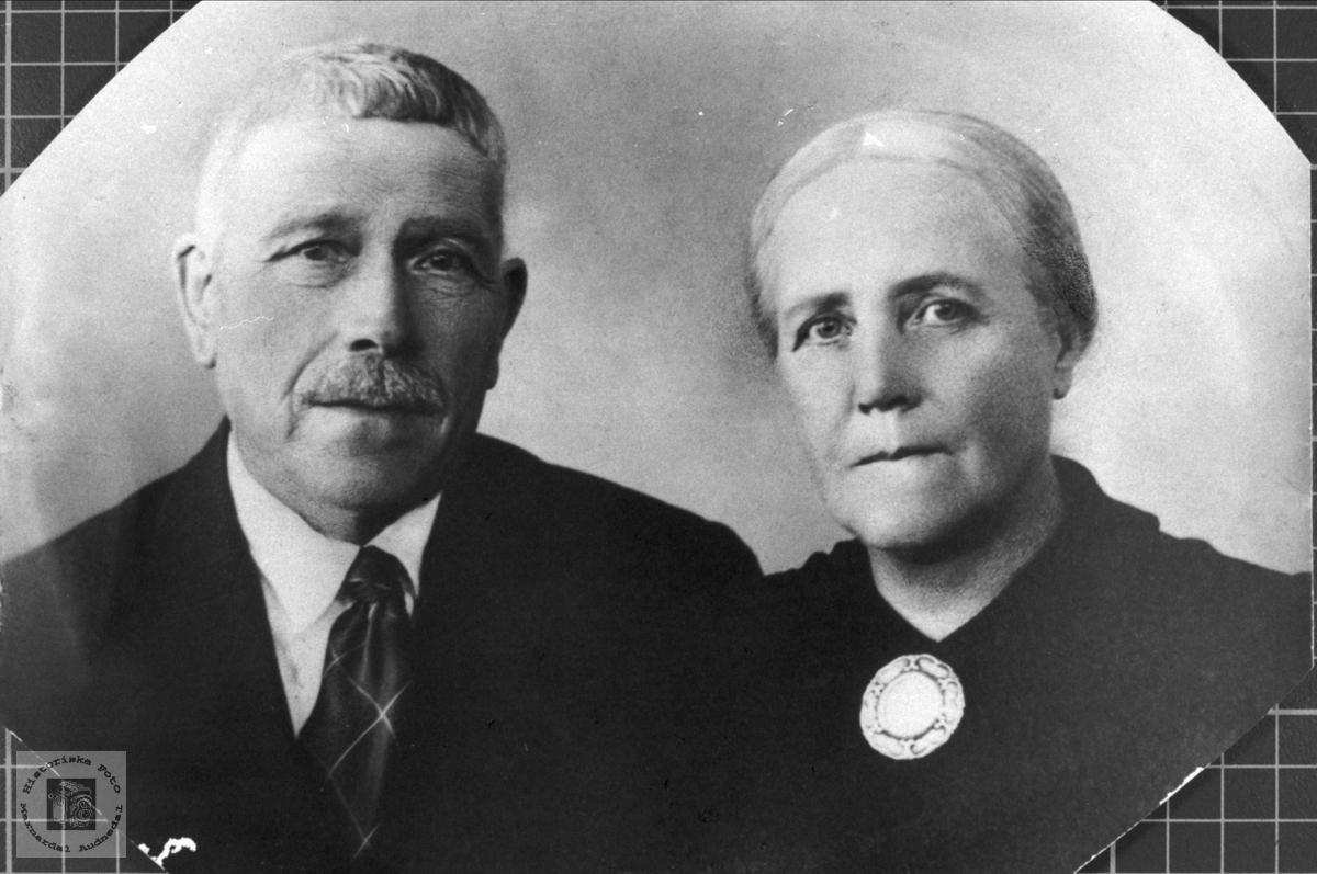 Ekteparet Søren og Guri Trygsland