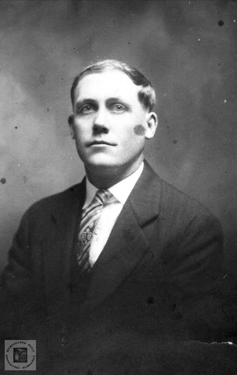 Portrett  Peder Johan Åsen