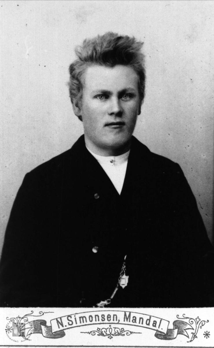 Portrett av Hans Fuglestveit, Øyslebø.